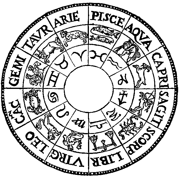 old astrological signs chart