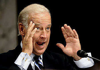 Joe Biden, the present vice president.